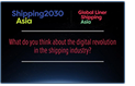 digital revolution shipping